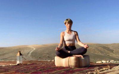 Création d'un site internet pour une professeur de yoga